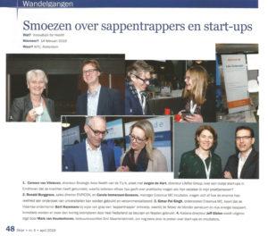 Smoezen over sappentrappers en start-ups